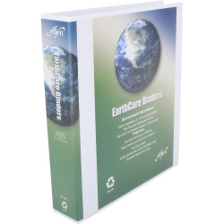 CUMBERLAND EARTHCARE BINDER Insert A4 3D Ring 40mm White