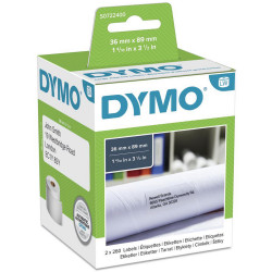DYMO LABELWRITER LABELS Paper Lge Address 36x89 30321 (pk2)