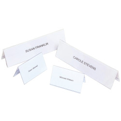 REXEL NAME PLATES Small 92x56mm BX50