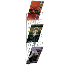 ALBA WIRE WALL MOUNTED DISPLAY 7 Tier