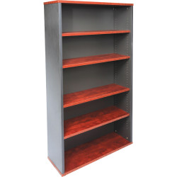 RAPID MANAGER BOOKCASE H1800xW900xD315 Appletree