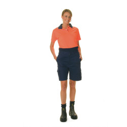 ZIONS 3897 SAFETY POLO SHIRT Two Tone Ladies Short Sleeve