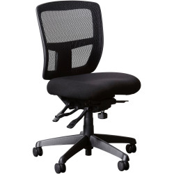 CEO EXECUTIVE CHAIR H/B Black Leather
